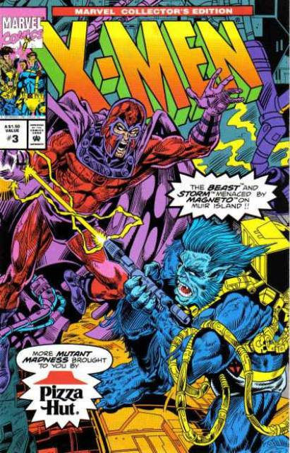 X-Men: Pizza Hut Collector's Edition (Vol 1 1993) #3 CVR A Polybag