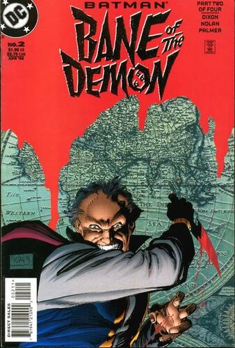 Batman: Bane of the Demon (Vol 1 1998) #2 CVR A