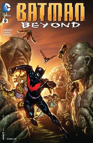 Batman Beyond (Vol 5 2016) #9 CVR A