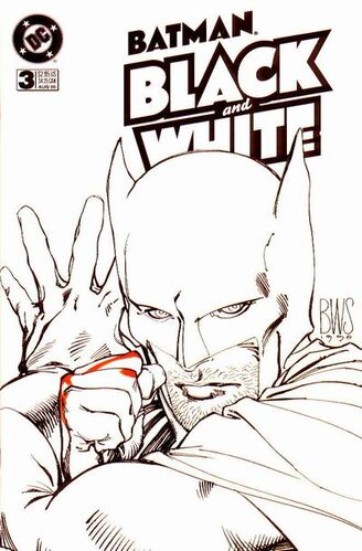 Batman Black and White (Vol 1 1996) #3 CVR A
