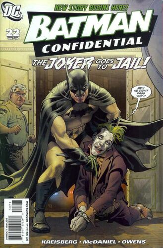 Batman Confidential (Vol 1 2008) #22 CVR A