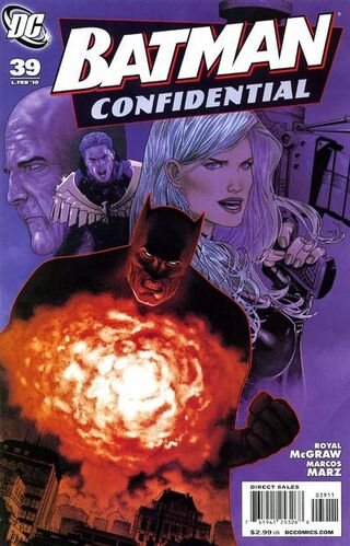 Batman Confidential (Vol 1 2010) #39 CVR A