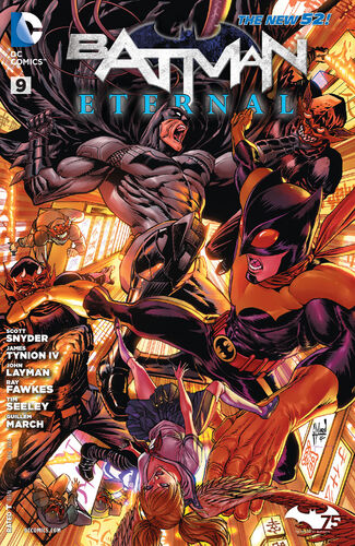 Batman Eternal (Vol 1 2014) #9 CVR A