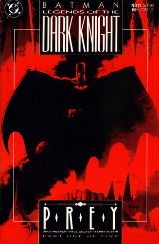 Batman: Legends of the Dark knight (Vol 1 1990) #11 CVR A