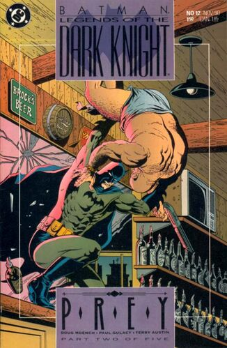 Batman: Legends of the Dark knight (Vol 1 1990) #12 CVR A