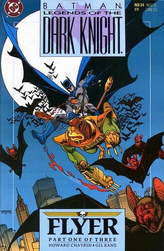 Batman: Legends of the Dark knight (Vol 1 1991) #24 CVR A