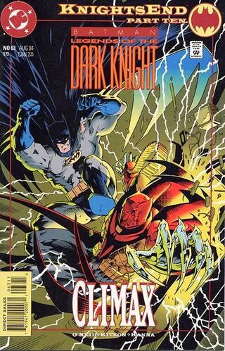 Batman: Legends of the Dark knight (Vol 1 1994) #63 CVR A