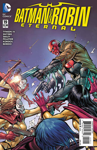 Batman and Robin Eternal (Vol 1 2016) #19 CVR A