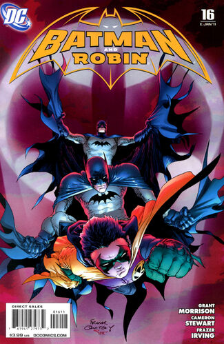 Batman and Robin (Vol 1 2011) #16 CVR A