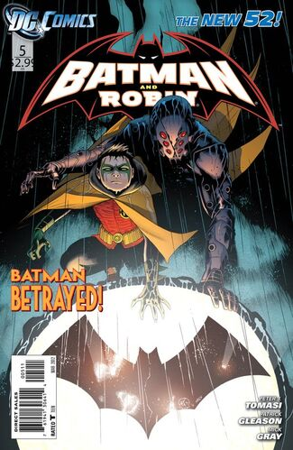 Batman and Robin (Vol 2 2012) #5 CVR A