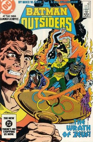 Batman and the Outsiders (Vol 1 1984) #14 CVR A
