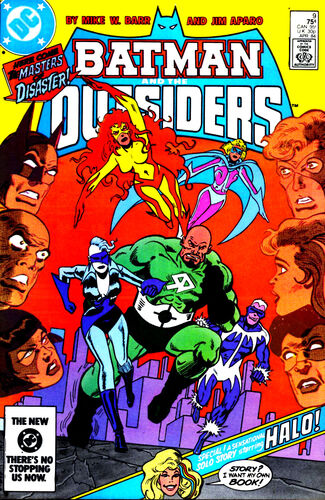 Batman and the Outsiders (Vol 1 1984) #9 CVR A