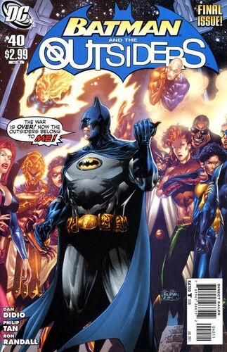 Batman and the Outsiders (Vol 2 2011) #40 CVR A