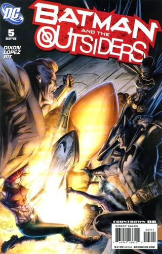 Batman and the Outsiders (Vol 2 2008) #5 CVR A