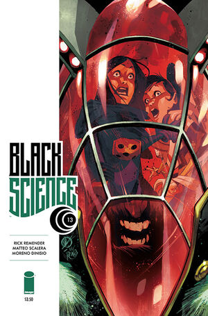 Black Science (Vol 1 2015) #13 CVR A