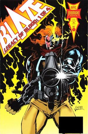 Blaze: Legacy of Blood (Vol 1 1993) #1 CVR A