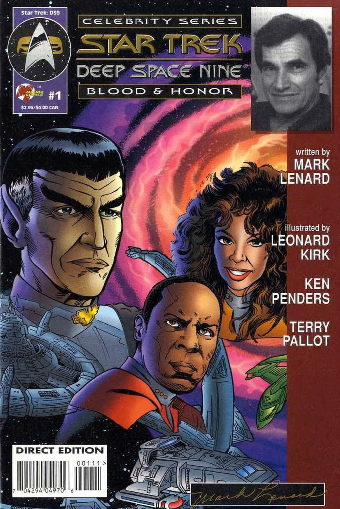 Star Trek: Deep Space Nine - Blood & Honor (Vol 1 1995) #1 CVR A