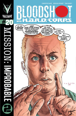 Bloodshot and H.A.R.D Corps (Vol 3 2014) #20