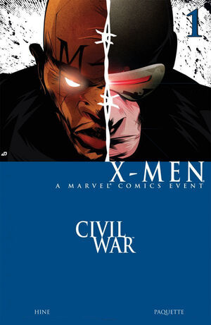 Civil War: X-Men (Vol 1 2006) #1 CVR A