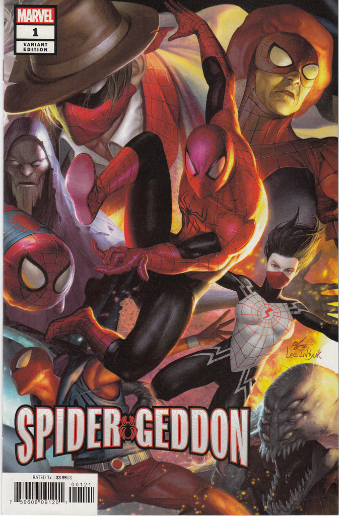 Spider-Geddon #1 In-Hyuk Lee Connecting Variant