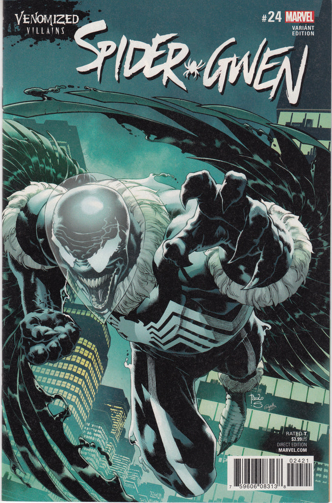 Spider-Gwen #24 Venomized Vulture Variant