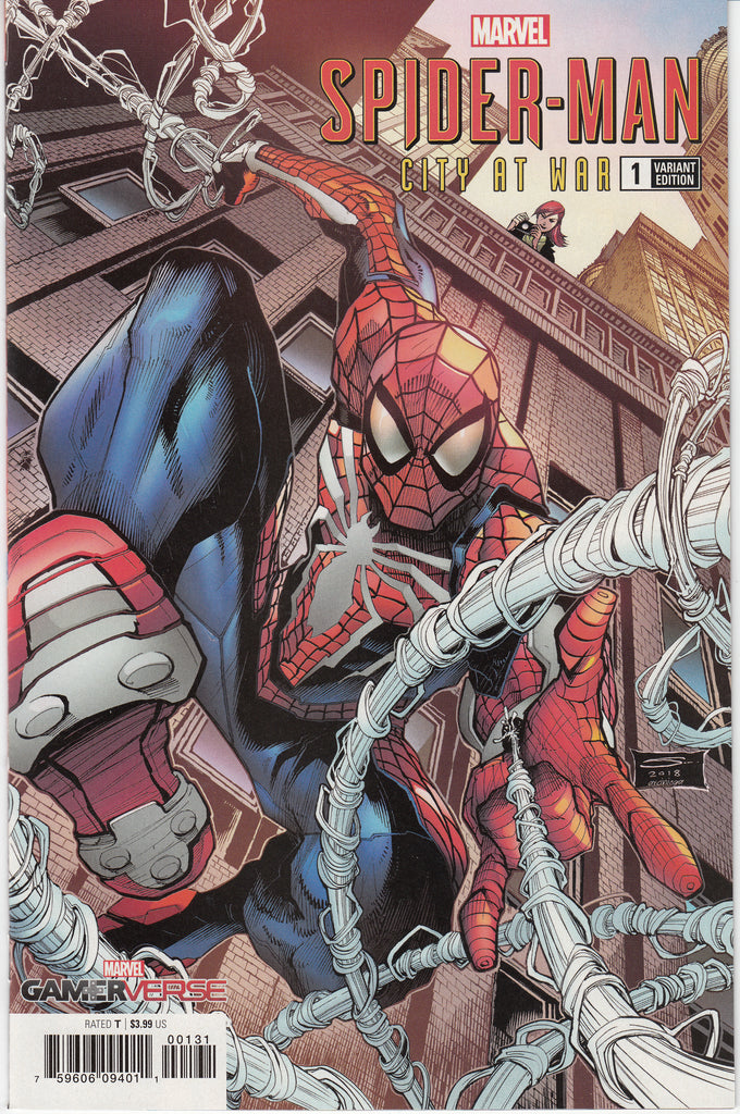 Marvel Gamerverse Spider-Man City At War #1 1/10 Gerardo Sandoval Variant