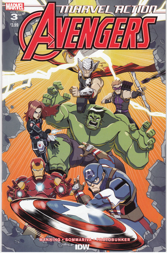 Marvel Action Avengers #3 1/10 Ryan Jampole Variant