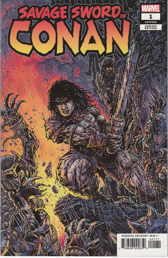 Savage Sword of Conan #1 1/25 Kevin Eastman Variant