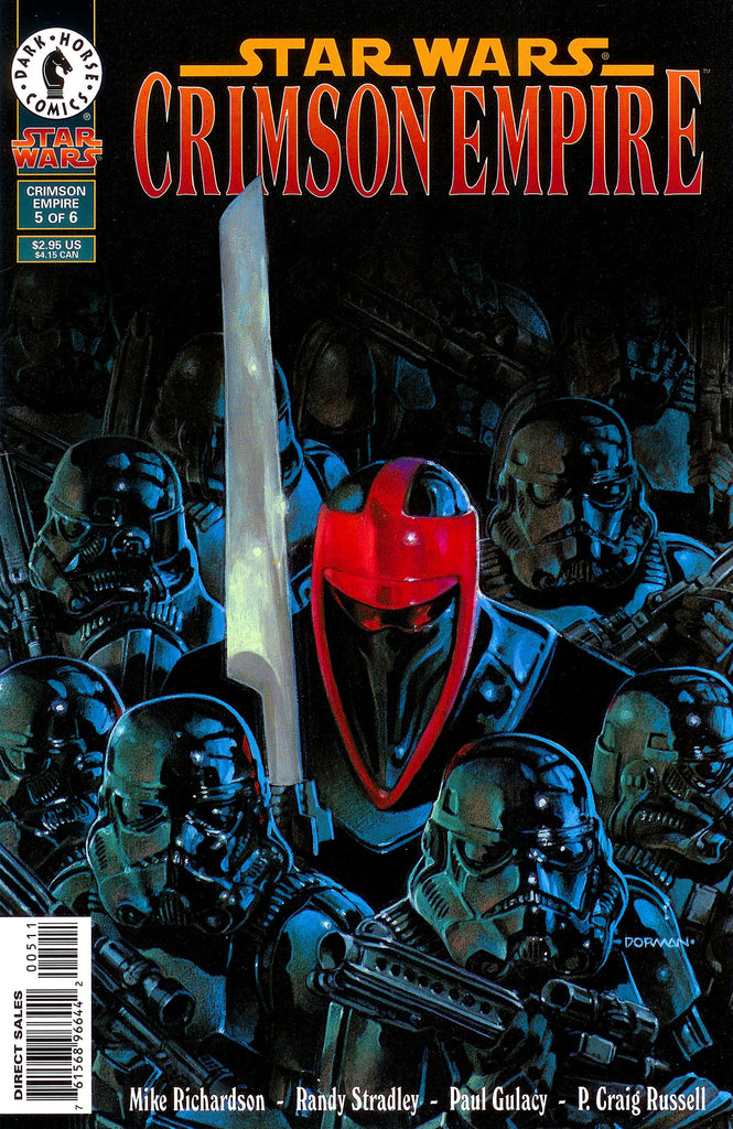 Star Wars - Crimson Empire (Vol 1 1998) #5 CVR A