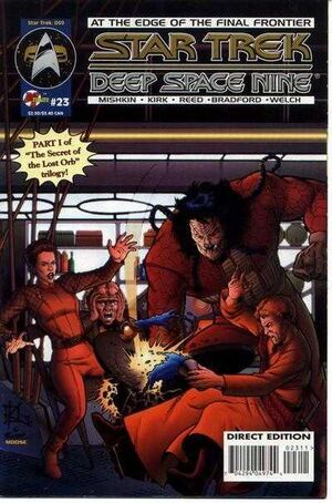 Star Trek: Deep Space Nine (Vol 1 1993) #23 CVR A