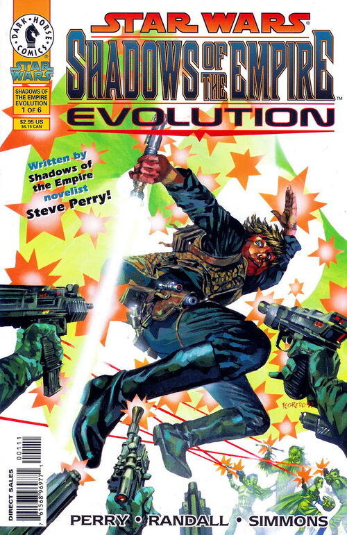 Star Wars - Shadows of the Empire: Evolution (Vol 1 1998) #1 CVR A