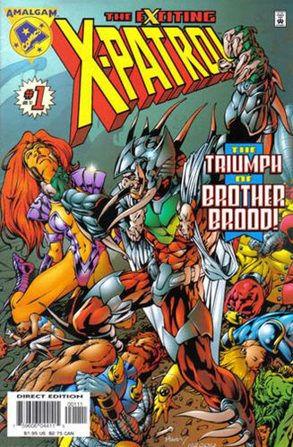 Exciting X-Patrol (Vol 1 1997) #1 CVR A