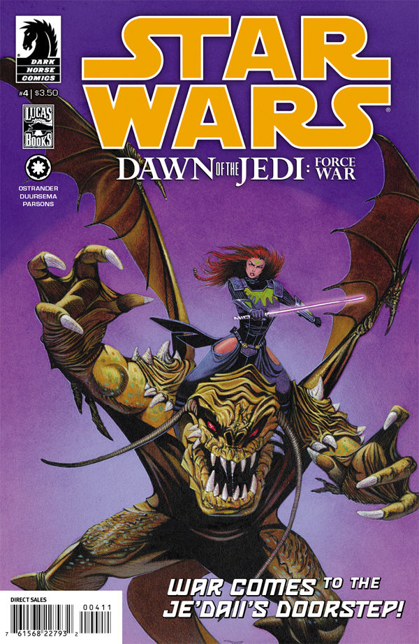 Star Wars - Dawn of the Jedi: Force War (Vol 1 2013) #4 CVR A
