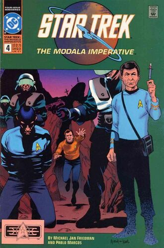 Star Trek: The Modala Imperative (Vol 1 1991) #4 CVR A