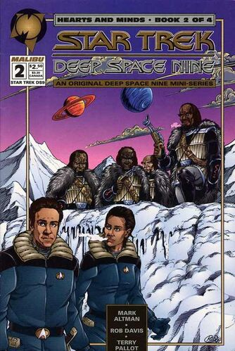 Star Trek: Deep Space Nine - Hearts and Minds (Vol 1 1994) #2 CVR A