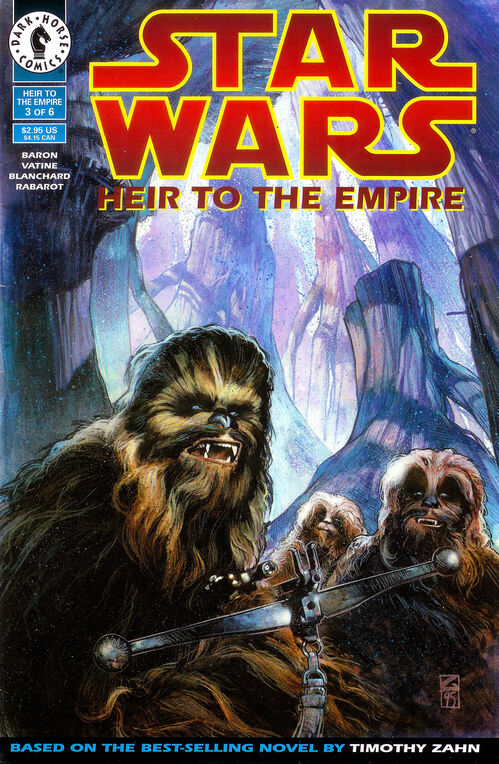 Star Wars - Heir to the Empire (Vol 1 1995) #3 CVR A