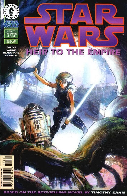 Star Wars - Heir to the Empire (Vol 1 1995) #4 CVR A