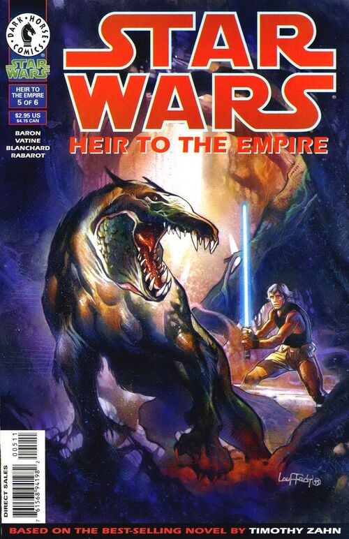 Star Wars - Heir to the Empire (Vol 1 1995) #5 CVR A