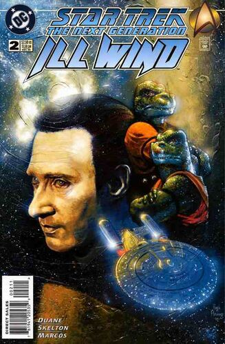 Star Trek: The Next Generation - Ill Wind (Vol 1 1995) #2 CVR A