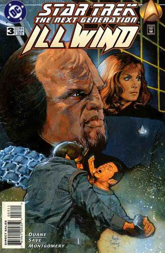 Star Trek: The Next Generation - Ill Wind (Vol 1 1995) #3 CVR A