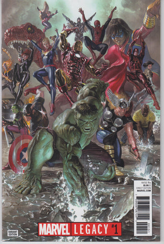 Marvel Legacy #1 1/50 Alex Ross Variant