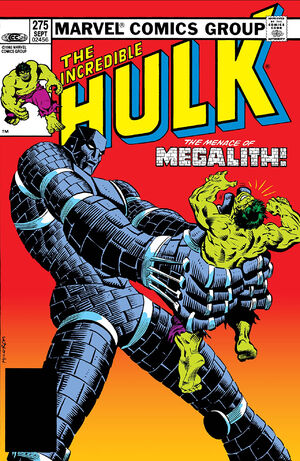 Incredible Hulk (Vol 1 1968) #275 CVR A
