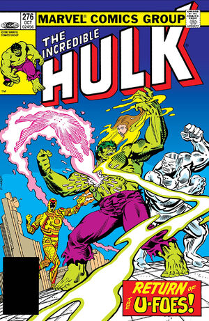 Incredible Hulk (Vol 1 1968) #276 CVR A