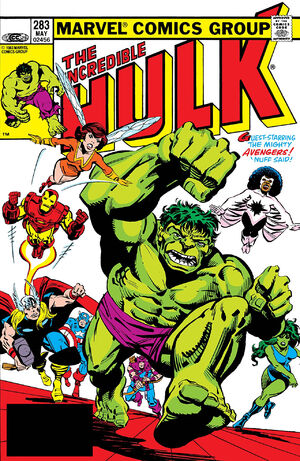 Incredible Hulk (Vol 1 1968) #283 CVR A