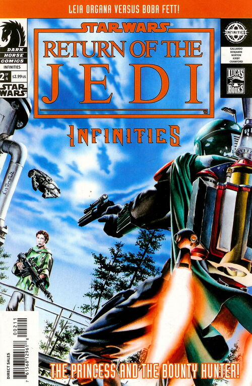 Star Wars - Return of the Journey: Infinities (Vol 1 2003) #2 CVR A