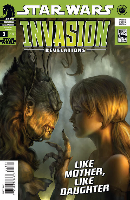 Star Wars - Invasion: Revelations (Vol 1 2011) #3 CVR A