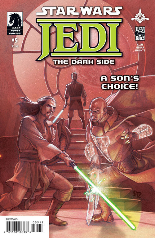 Star Wars - Jedi: The Dark Side (Vol 1 2011) #5 CVR A