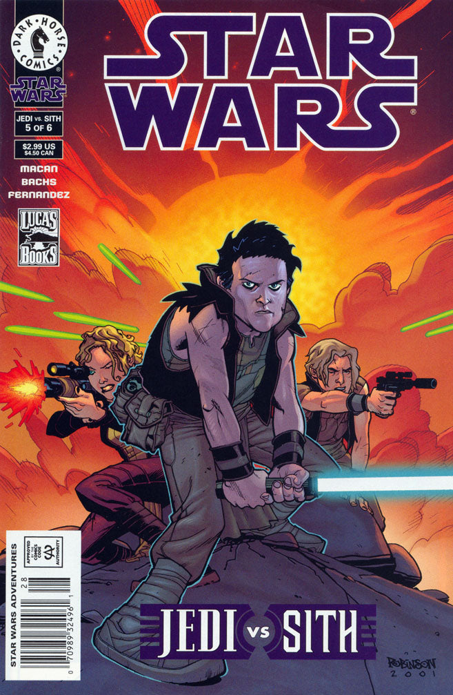 Star  Wars - Jedi vs Sith (Vol 1 2001) #5 CVR A