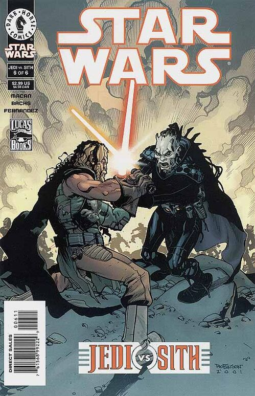 Star  Wars - Jedi vs Sith (Vol 1 2001) #6 CVR A
