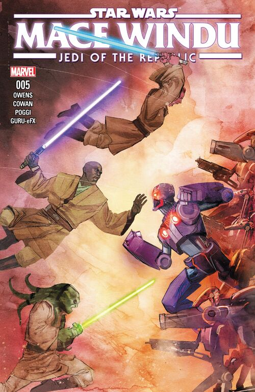 Star Wars - Mace Windu: Jedi of the Republic (Vol 1 2017) #5 CVR A